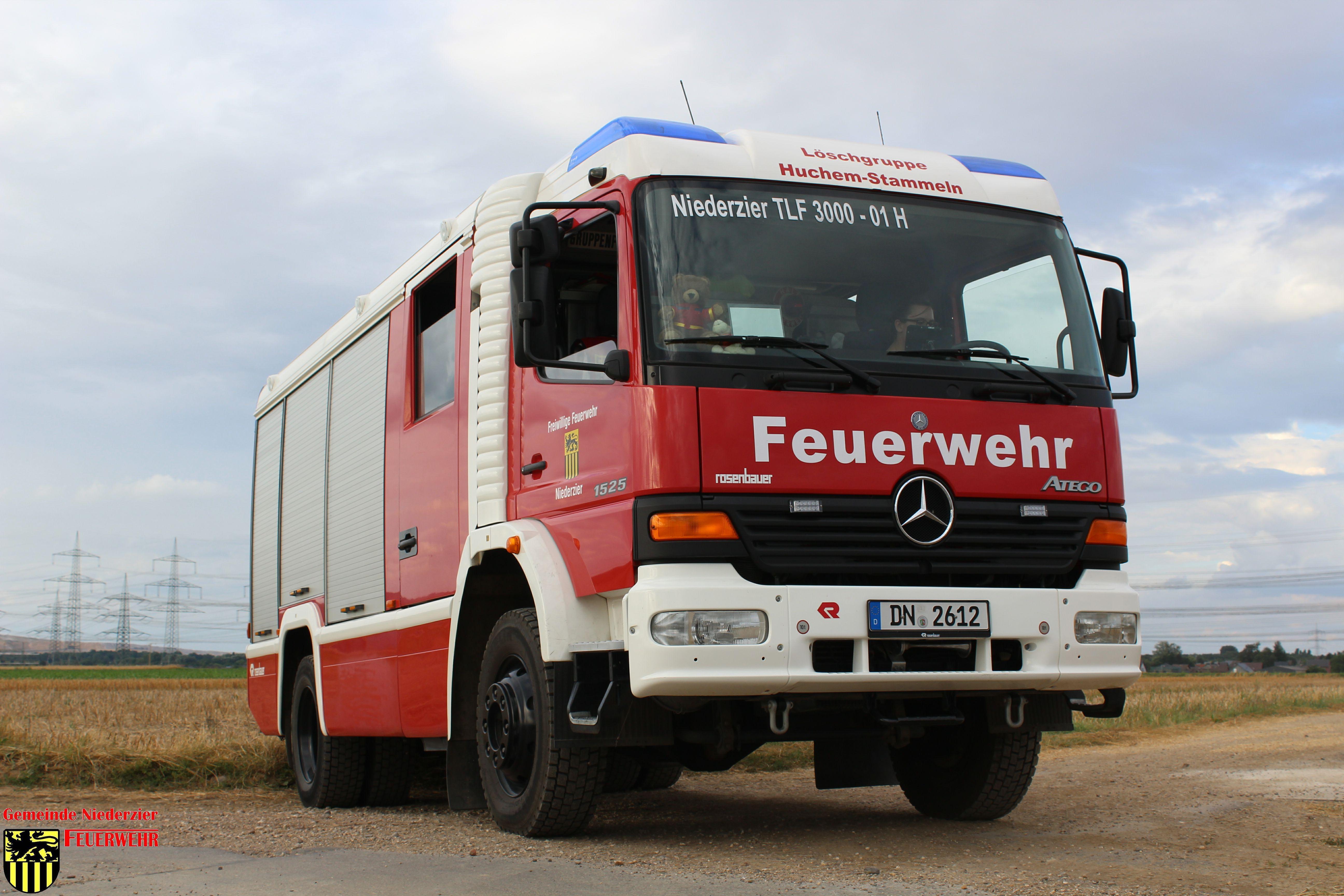 Huchem-Stammeln #BD# Heckenbrand