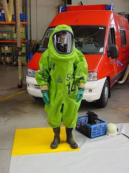 Feuerwehr ABC – C wie Chemikalienschutzanzug