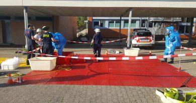 ABC Übung an der Gesamtschule Niederzier/Merzenich in Niederzier