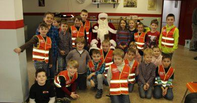 Weihnachtsfeier der Kinderfeuerwehr Niederzier