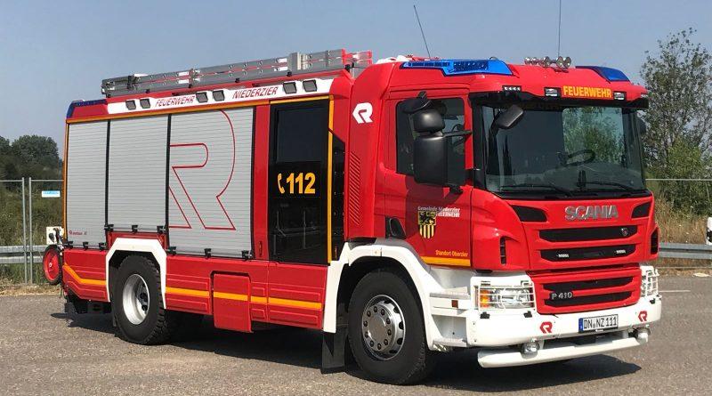 Oberzier #BD# Heckenbrand
