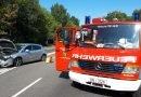 Krauthausen #TH# auslaufende Betriebsmittel nach Verkehrsunfall