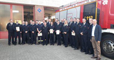Jahreshauptversammlung der Feuerwehr der Gemeinde Niederzier 2019