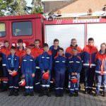 Action pur am Berufsfeuerwehrtag 2019 der Löschgruppe Niederzier