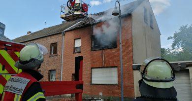 Huchem-Stammeln #BD2# Wohnhausbrand