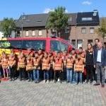 Eigenes Fahrzeug für die Kinderfeurwehr der Gemeinde Niederzier