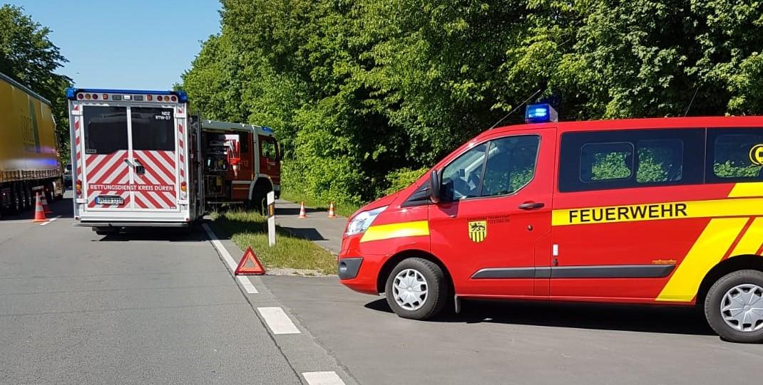 Read more about the article Huchem-Stammeln #TH# ausl. Betriebsmittel nach VU