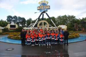Read more about the article Jugendfeuerwehr im Movie-Park