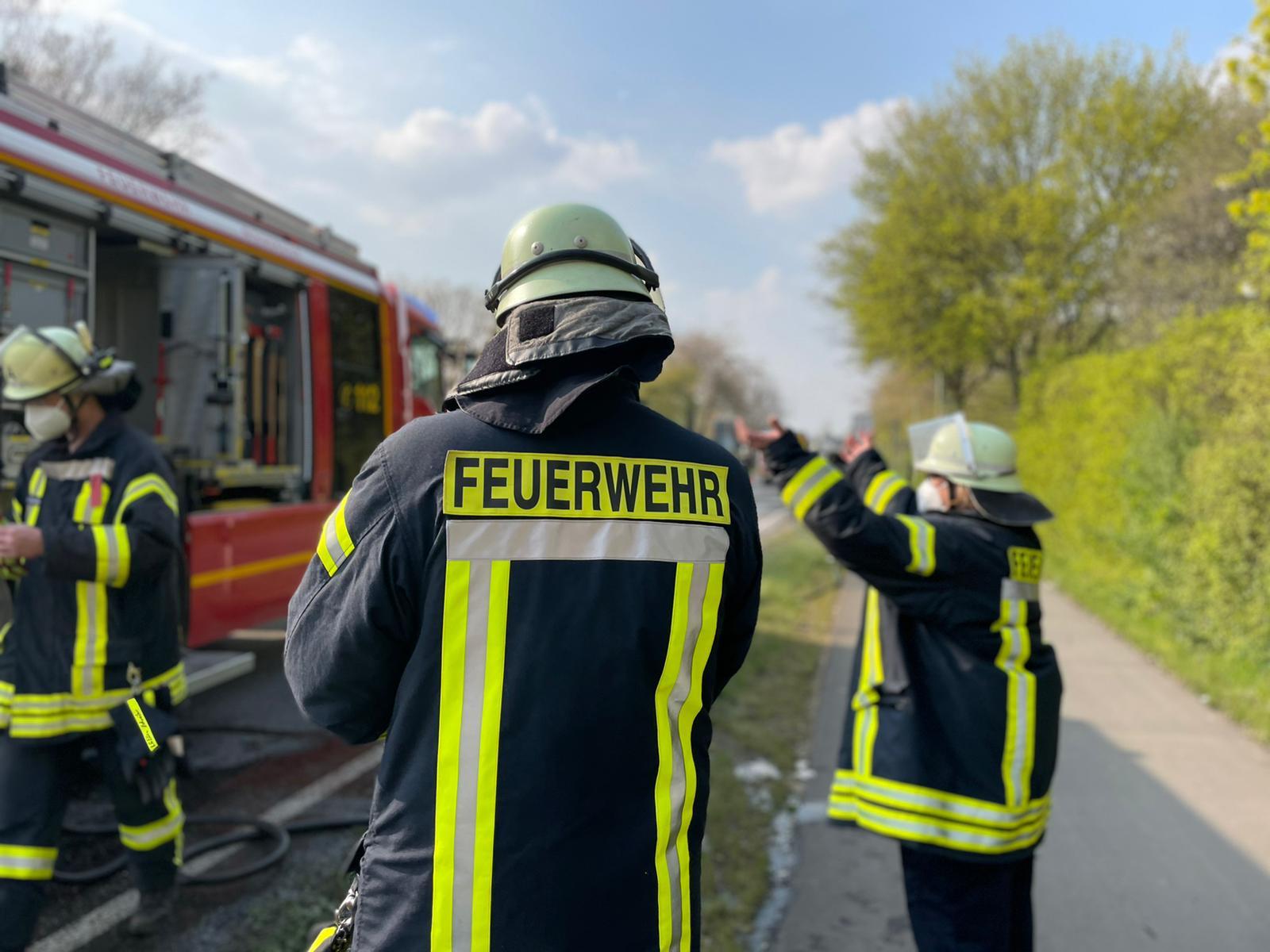 Huchem-Stammeln #FZB# PKW Brand