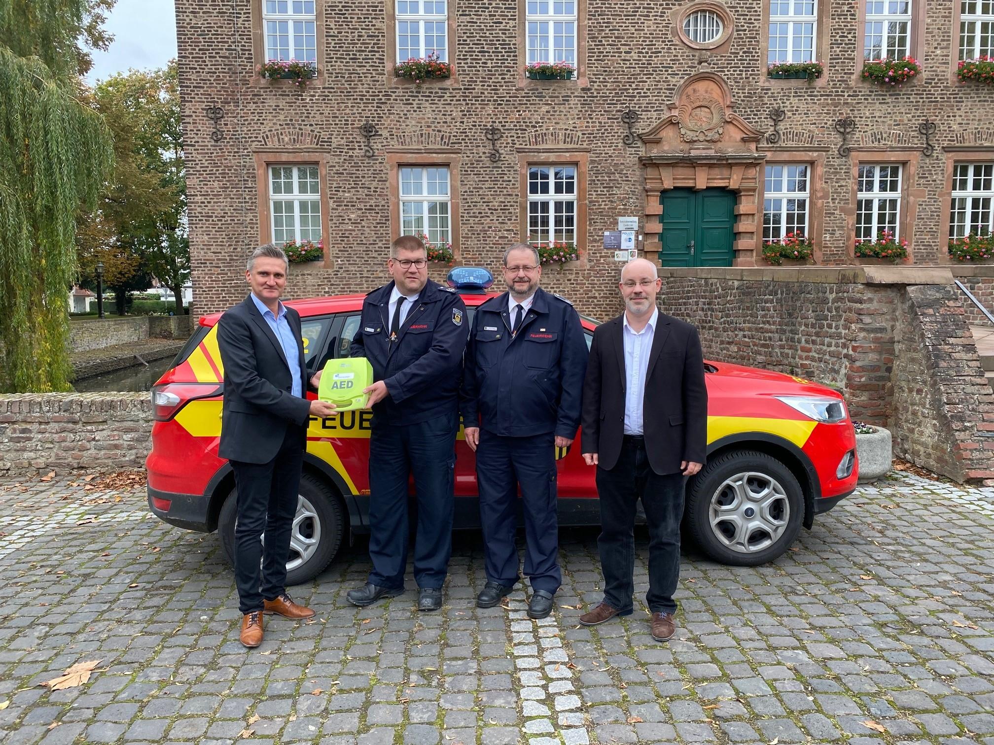 Read more about the article Unterstützung für die Feuerwehr